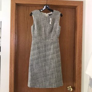 Jcrew A Line Dress in Shimmer Tweed